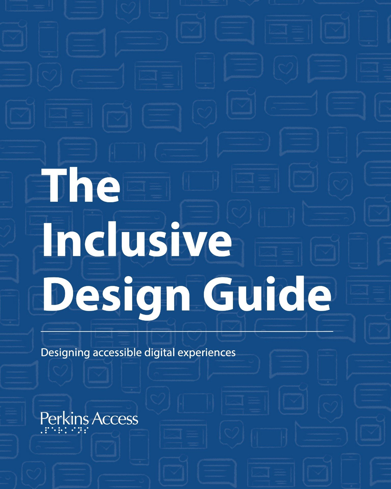 The Inclusive Design Guide Cover Graphic